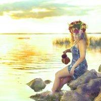 У озера :: Эля Судоплатова