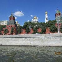 Вид  на Кремль со строны Москва-реки :: раиса Орловская