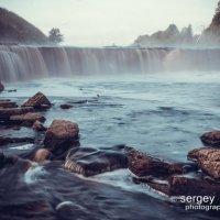 Саблинский водопад на рассвете :: Сергей Антонов