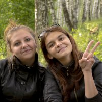 подружка и я :: Diana Abakumova