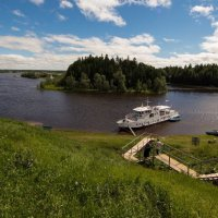 белый пароход... :: Сергей