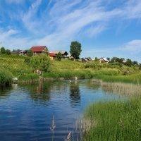 Купание в реке Ёмбе... :: Федор Кованский
