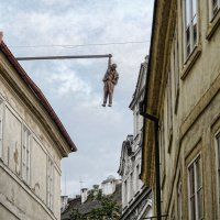 Прага, Висящий человек. :: Екатерина Артамонова
