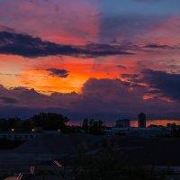 Промзона в красках заката. :: Денис Бажан