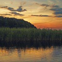 Вечер на озере Дрюкшай. :: Елена Kазак