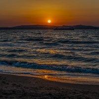 Таманский залив на закате. :: Владимир Питерский