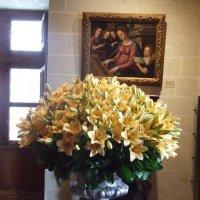 Цветы в замке (Франция) :: Anton Сараев
