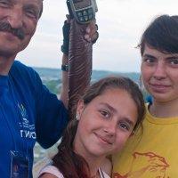 Высокая фотосэссия... или девочки на шаре :: Владимир Хиль