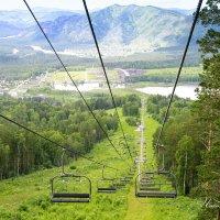 Подъем в горы :: Юлия Пахомова