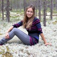 Белый мох :: Алтай Сейтмагзимов
