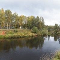 Река Оредеж. :: Виктор Елисеев
