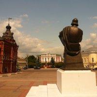 Памятник Андрею Рублёву во Владимере :: Galina Belugina