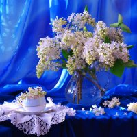 Сирени белой аромат... :: Валентина Колова