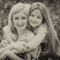 Мама и дочка :: Кристина Волкова(Загальцева)