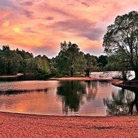 Лагуна на закате :: Андрей Куприянов