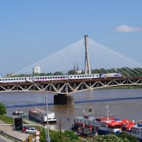 Квантовый мост над рекой Висла :: Елена Рязанова