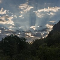 Утро в Актовском каньоне :: Сергей Волков