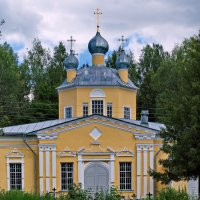 Храм Леохновского мужского монастыря. :: Sergey Serebrykov