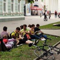 Читающий город Шахты :: Владимир Болдырев