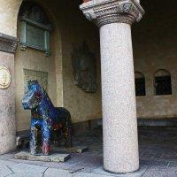 Деревянная статуя языческого коня. :: Александр Лейкум
