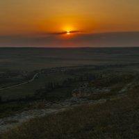 Закат в Белых Скалах. :: Владимир Питерский