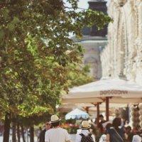 По улицам Москвы :: Полина Гончарова