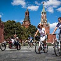 Москва-велосипедная. :: Valery Penkin