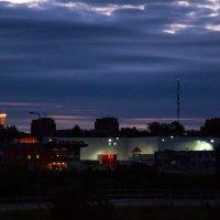 Вечерний город. :: Инта