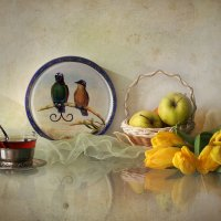 Натюрморт с райскими птицами :: lady-viola2014 -