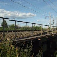 железнодорожный мост :: Сергей Кочнев