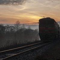 Вечерний поезд :: Григорий П