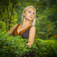 в зелени :: Алексей Жариков