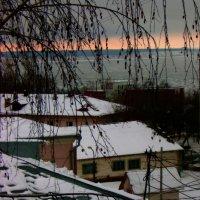 Крыши.Выпал снег :: Григорий Кучушев