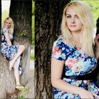 Русалка на ветвях сидит... Александра.... :: Irinka Zharova