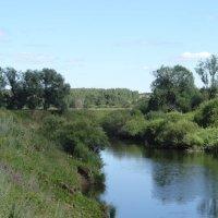 Река Немда, на границе республики Марий Эл и Кировской области :: Андрей Бабушкин