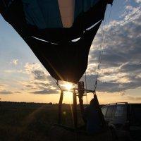 полет-закат :: Оксана Акильева