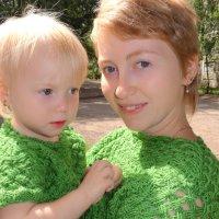 Мама с дочкой :: Алена Федосова