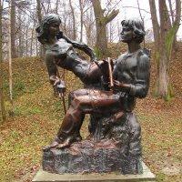 г.Трускавец ( скульптура в курортном парке ) :: super-krokus.tur ( Наталья )