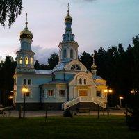 Церковь. п.Кольцово :: Марина Коноферчук