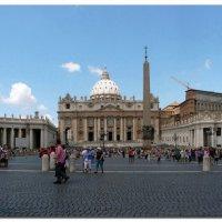 Рим, собор Святого Петра :: Наталья (Nata-Cygan) Цыганова