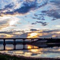 Серия о.Мылки. Мост через протоку. :: Поток