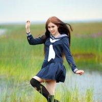 Прекрасная Японская школьница :: Anton Megofoto