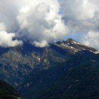 Снежные вершины Альп. Швейцария :: Надежда Гусева