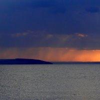 Дождь на закате :: Елена Шемякина