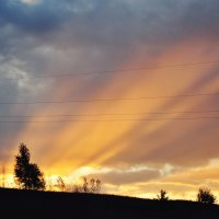 И вновь бежит за край земной светило :: Ирина Данилова
