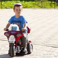 Юнный мотоциклист. :: Viktor Сергеев