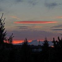 И такие закаты бывают :: Надежда Коломиец