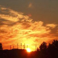 Огненный закат :: OlegVS S