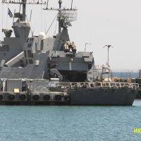 Корвет ВМС Израиля. :: Александр Владимирович Никитенко
