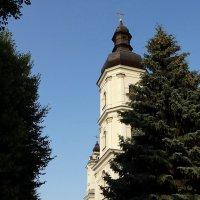 Башня-звонница. Рядом с костёлом. :: Владимир Гилясев